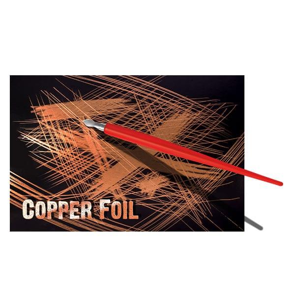 Essdee Scraperboard COPPERFOIL 229 x 152mm