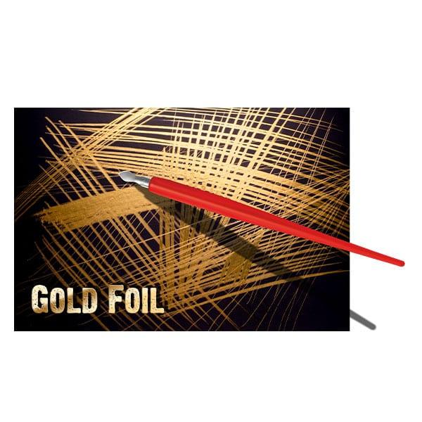 Essdee Scraperboard GOLDFOIL 305 x 229 mm