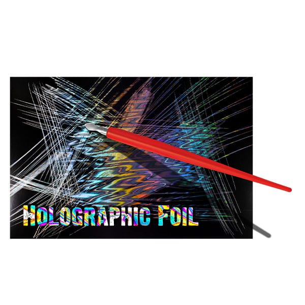 Essdee Scraperboard HOLOGRAPHIC FOIL 152 x 101mm