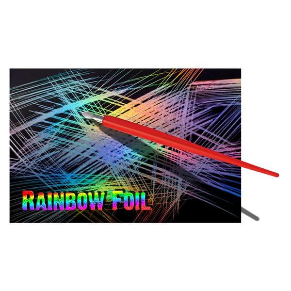 Essdee Scraperboard RAINBOW FOIL 152 x 101mm