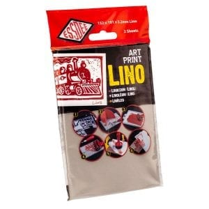 Essdee Art Print Lino Retail Hanging Packs ( 2 Pieces) 101 x 152mm