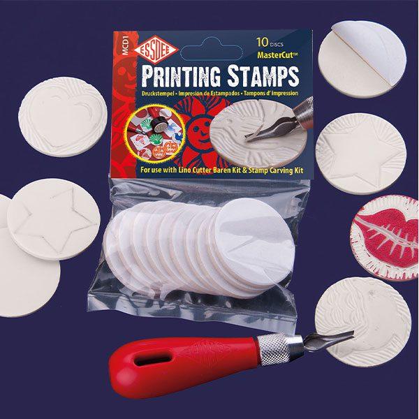 Essdee Mastercut Printing Stamps (pack of 10)