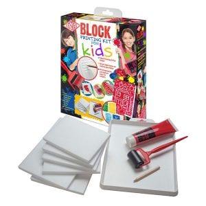 Essdee Block Printing Kit for Kids