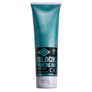 Essdee Block Colour Printing Ink 300ml PEARLESCENT GREEN