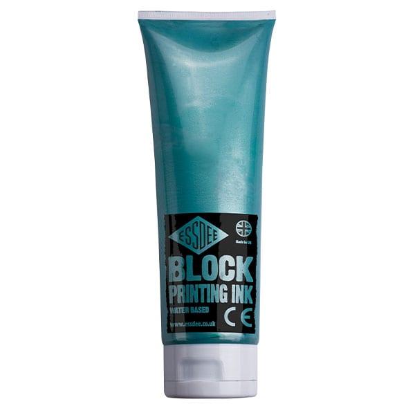 Essdee Block Colour Printing Ink 300ml PEARLESCENT GREEN