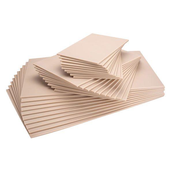 Essdee Softcut Packs of 10 Sheets 100 x 100mm