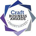 logo of Craft Buesiness Awards shortlisted